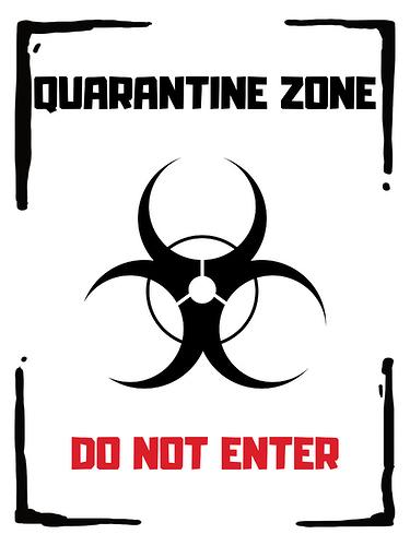 42-Quarantine-zone