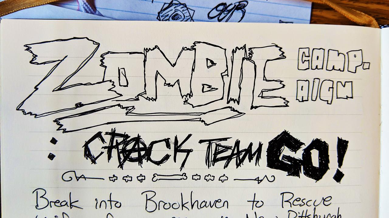Zombie Apocalypse  Crack Team Go! , The Night of the Run