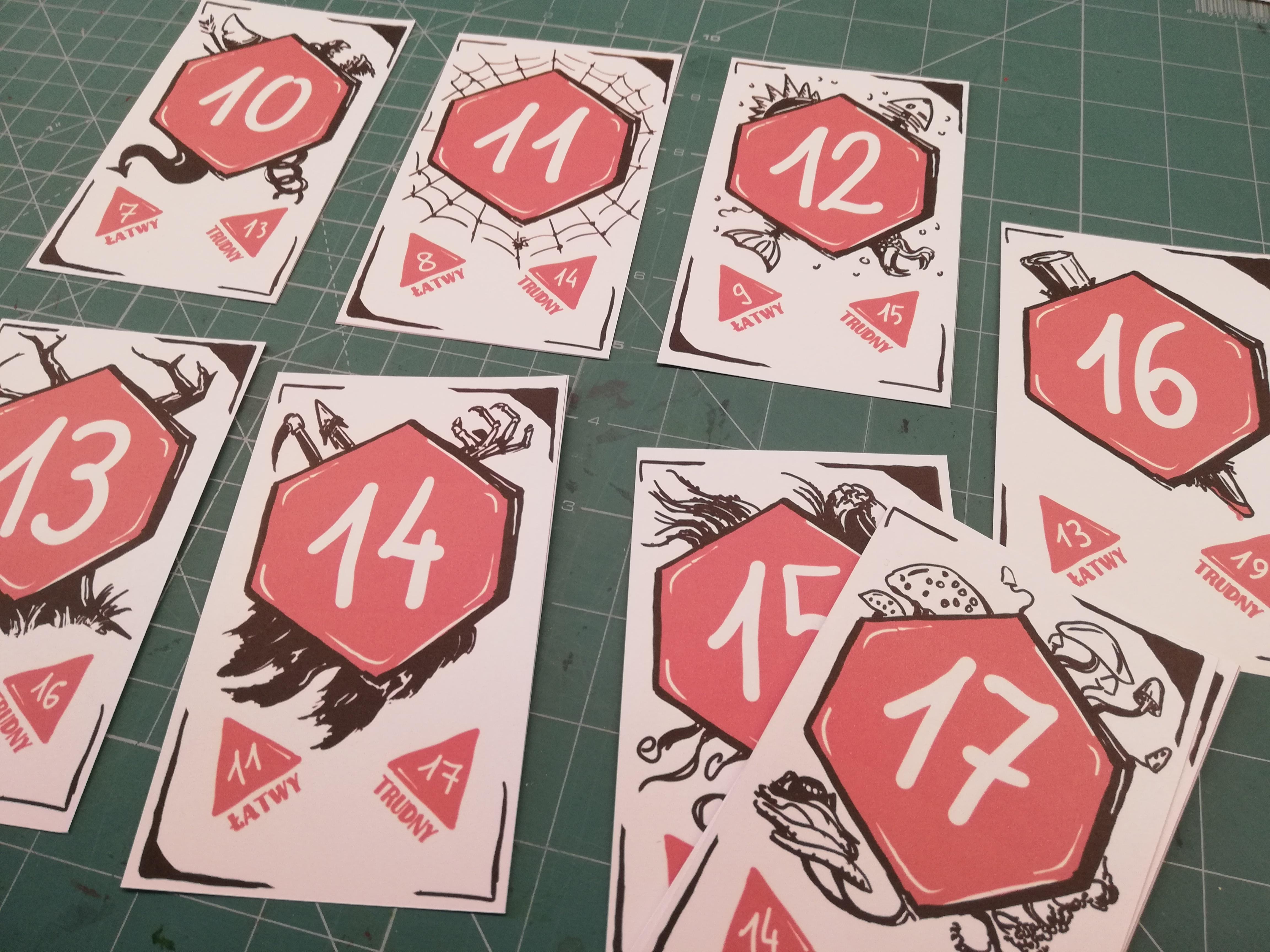 ICRPG Target Cards - Resources - RUNEHAMMER